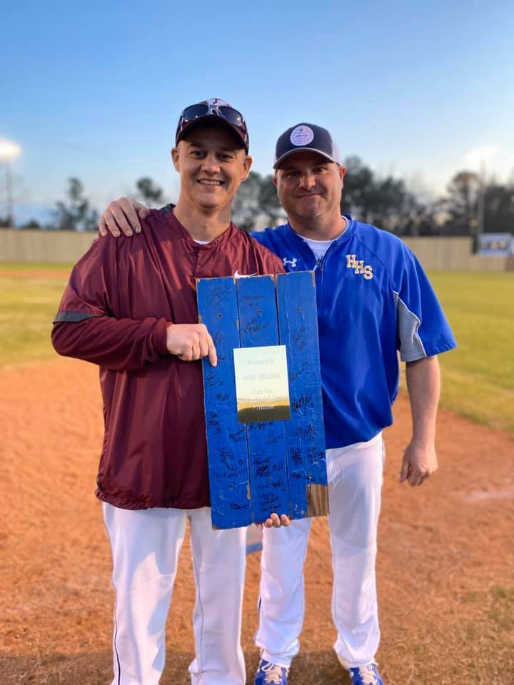 Hatley Baseball Honors Coach Threadgill