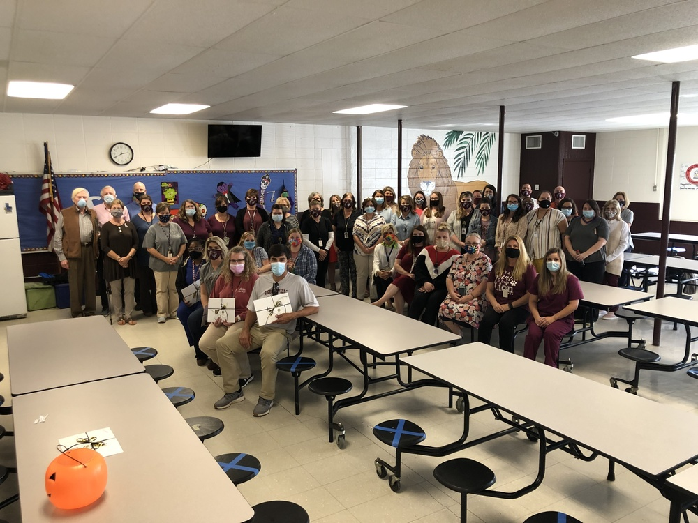 Biggersville Teachers and Staff Recognized