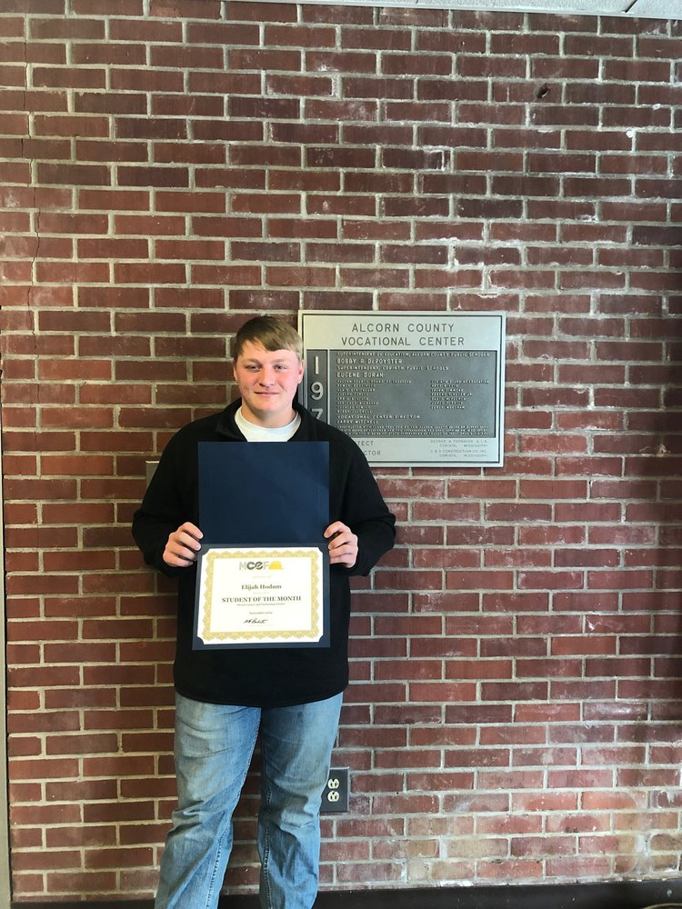 MCEF Names Hodum Student of the Month