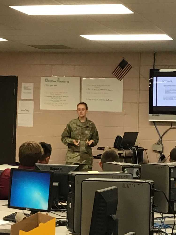 Private Shea Downs Speaks About Military Careers