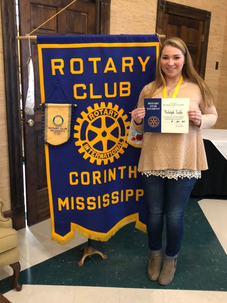 Rebekah Fields Named November Rotary Student of the Month