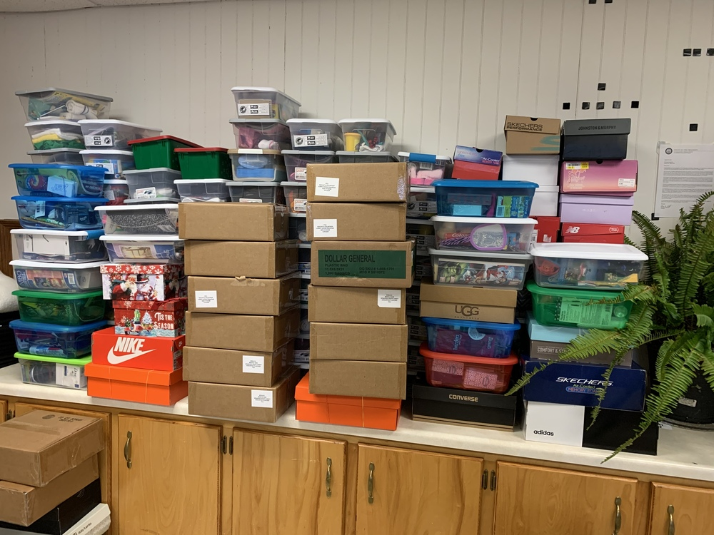 ACHS Spreads Joy with 143 OCC boxes