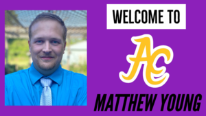ACHS Welcomes Matthew Young