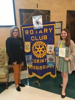 Ozbirn Honored as Rotary Recipient