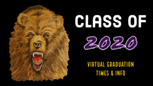 SENIORS: Virtual Graduation Times