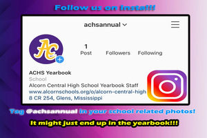 ACHS Annual is on Instagram!
