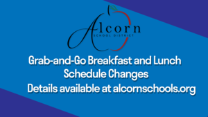 Grab-and-Go Breakfast and Lunch Schedule Change