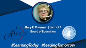 School Board Appreciation Week | Mary K. Coleman