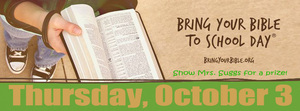 FCA Hosts Bring Your Bible to School Day