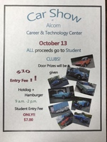 ACTC Car Show October 13th