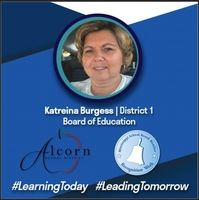 School Board Appreciation Week - Katriena Burgess