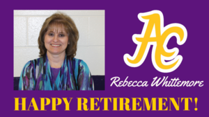 Retirement Tribute - Rebecca Whittemore