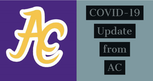 Message from ACHS about COVID-19