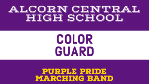 Purple Pride Color Guard Info - VIDEOS & CONTACT INFO
