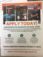 Governor's School Application