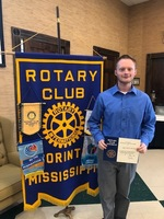 Kalob Drewery Chosen as ACTC May Rotary Student of the Month