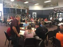 Maroon Band Hosts Annual Game Night