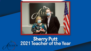 2021 Teacher of the Year | Sherry Putt