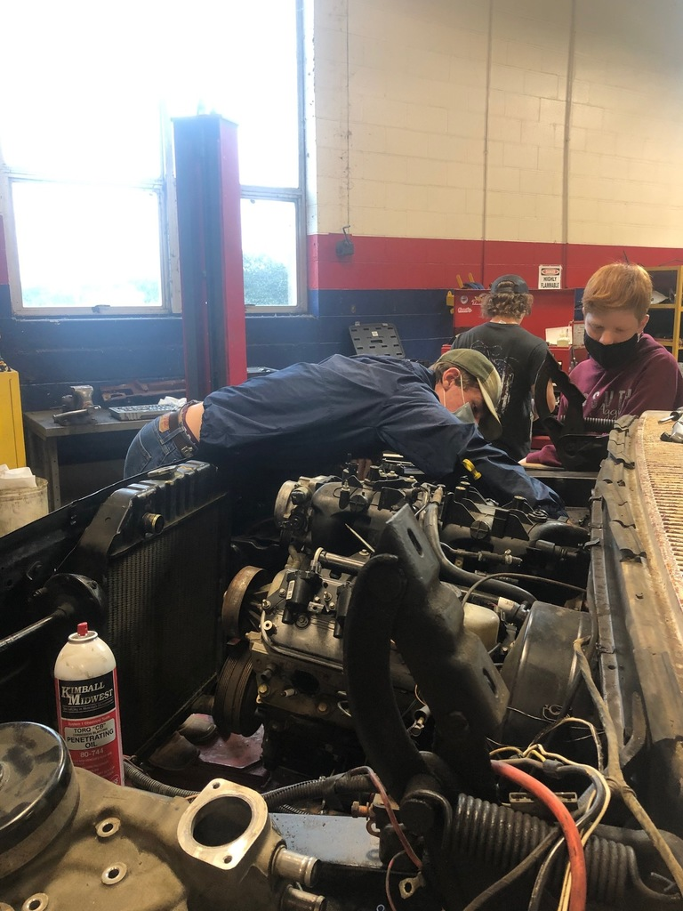 Automotive Student Action Shot