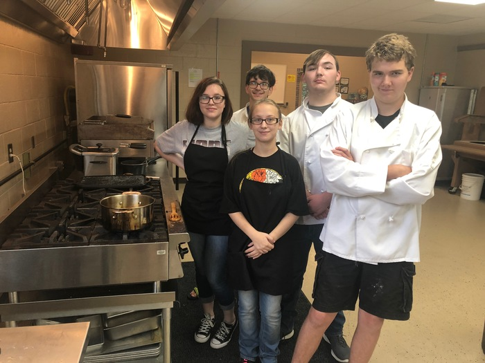 Culinary Arts students making Zeppote