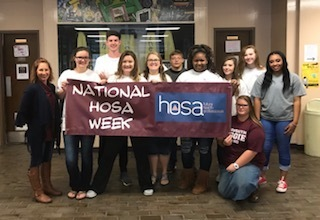 Health Science Students Celebrate HOSA Week