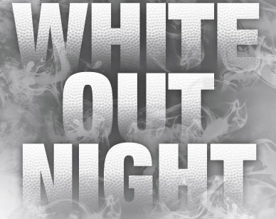 White Out the Warriors - Volleyball game 8/15/19