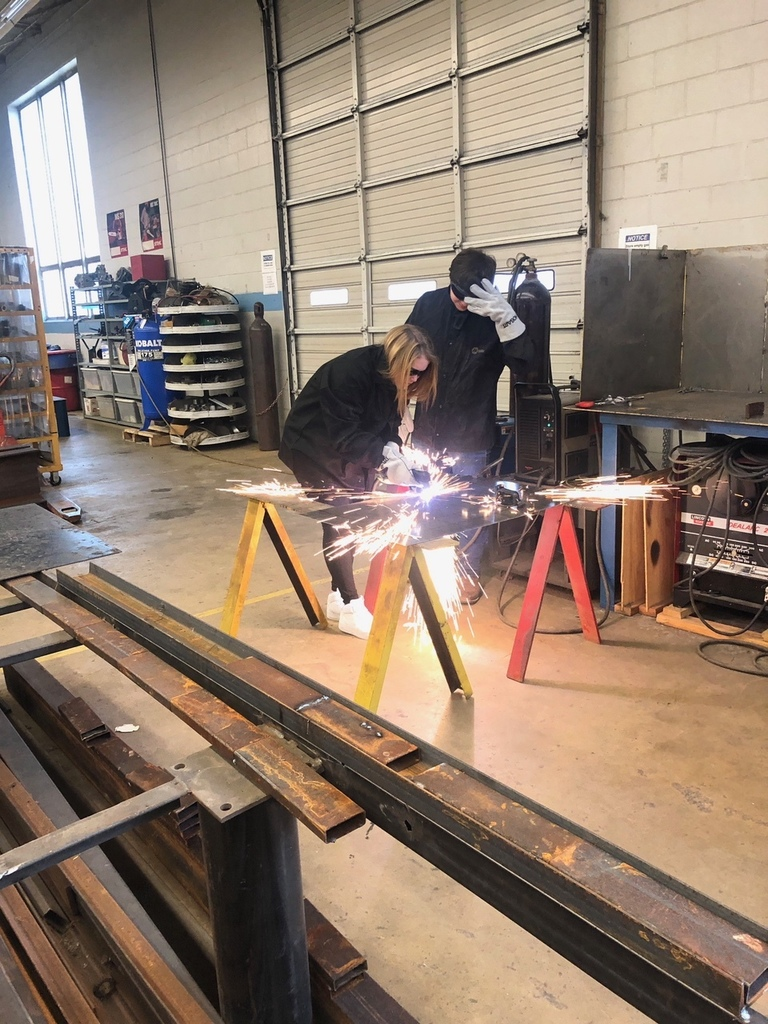 Students Try Their Hand at Welding in Ag Power & Equipment