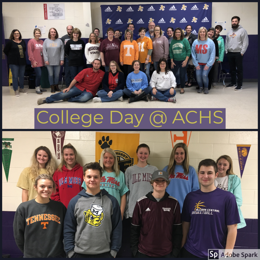 College Day Collage using Adobe Spark