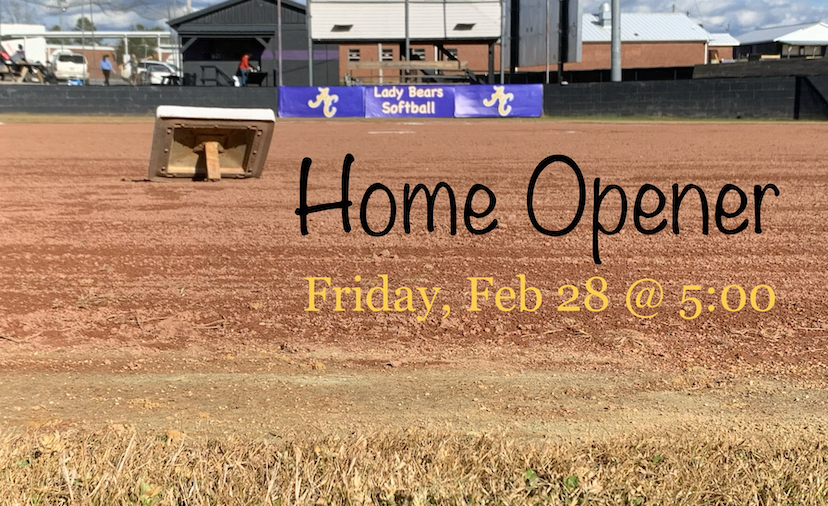 Softball Home Opener
