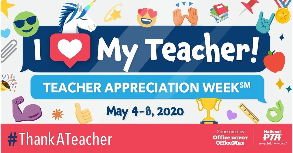 National PTA Teacher Appreciation Banner