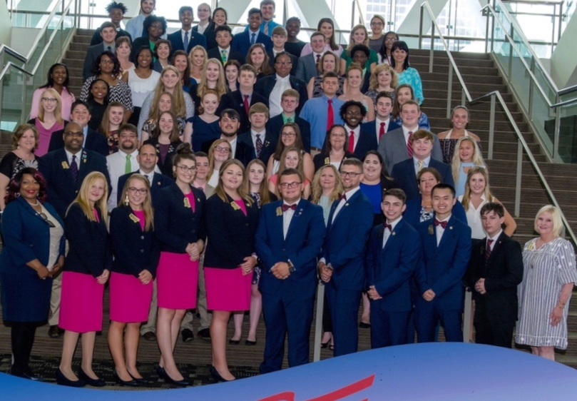 Kossuth is home to two of the Mississippi FBLA State Officers.  They along with several others attended the 2018 NLC in Baltimore, Maryland.